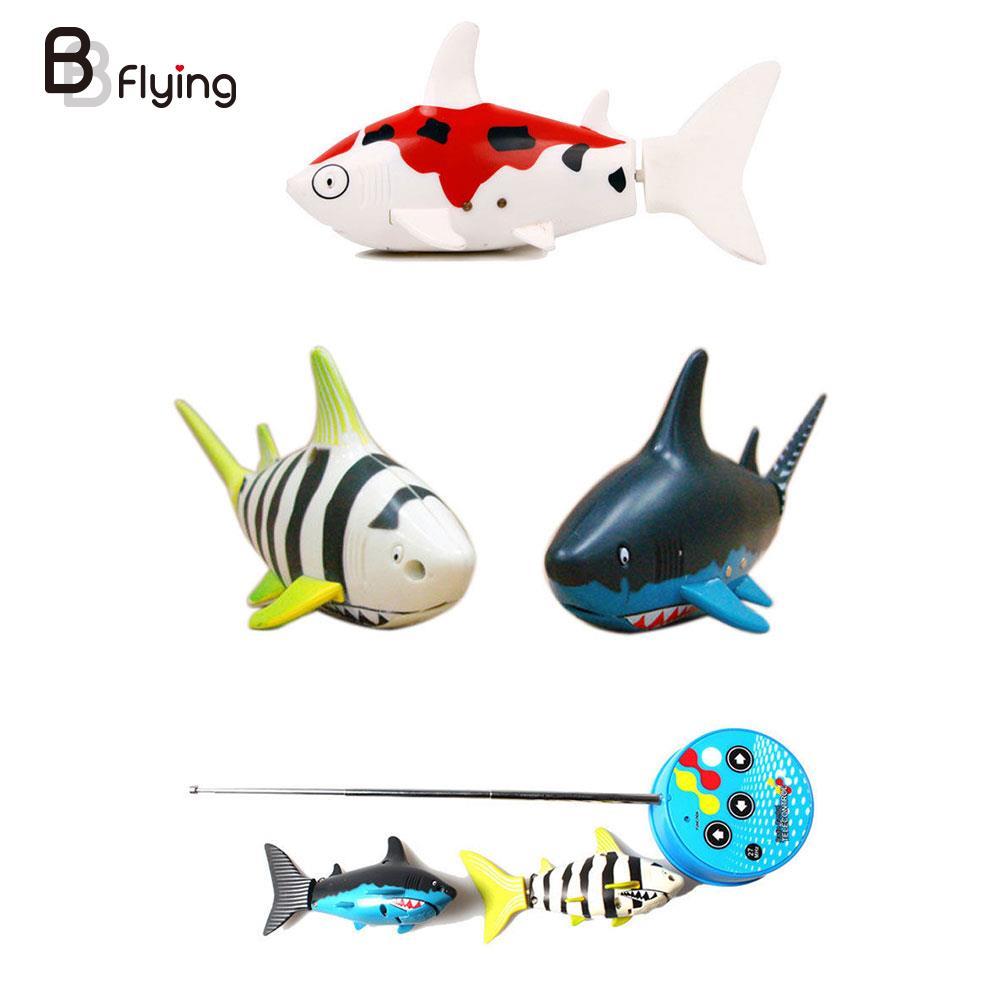 Coke Can Radio control RC mini ELECTRIC Electronic Shark fish Boat Kids Toy Gift