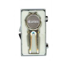 Golf Divot Repair Tool with Magnetic Ball Marker Golf Accessory Gift free shipping
