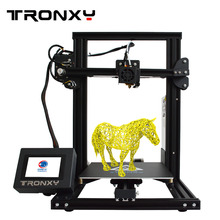 Newest  Tronxy XY-2 Fast Assembly Full metal 3D Printer 220*220*260mm High printing Magnetic Heat Paper 3.5 Inches Touch Screen