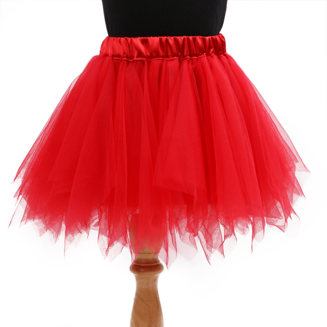 964cdb50ae57f New Fashion Girls 2 8yrs Tutu Skirts Baby Ballerina Skirt Childrens Chiffon  Fluffy Pettiskirts Kids Pink Red Black Color Clothes-in Skirts from Mother  ...