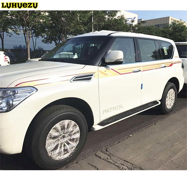 Luhuezu 3M стикер тела автомобиля для Ниссан Патрол Армада аксессуары 2012 - 2017