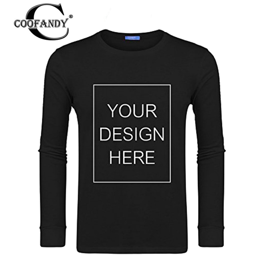 COOFANDY Custom Logo Print Free T Shirt O Neck Adult Men Women Cotton Short Sleeve T-Shi ...