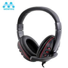 Auriculares gamer gaming headset auriculares con micrófono usb 2.0 de cuero 2 m para sony pc headset auriculares de lujo negro