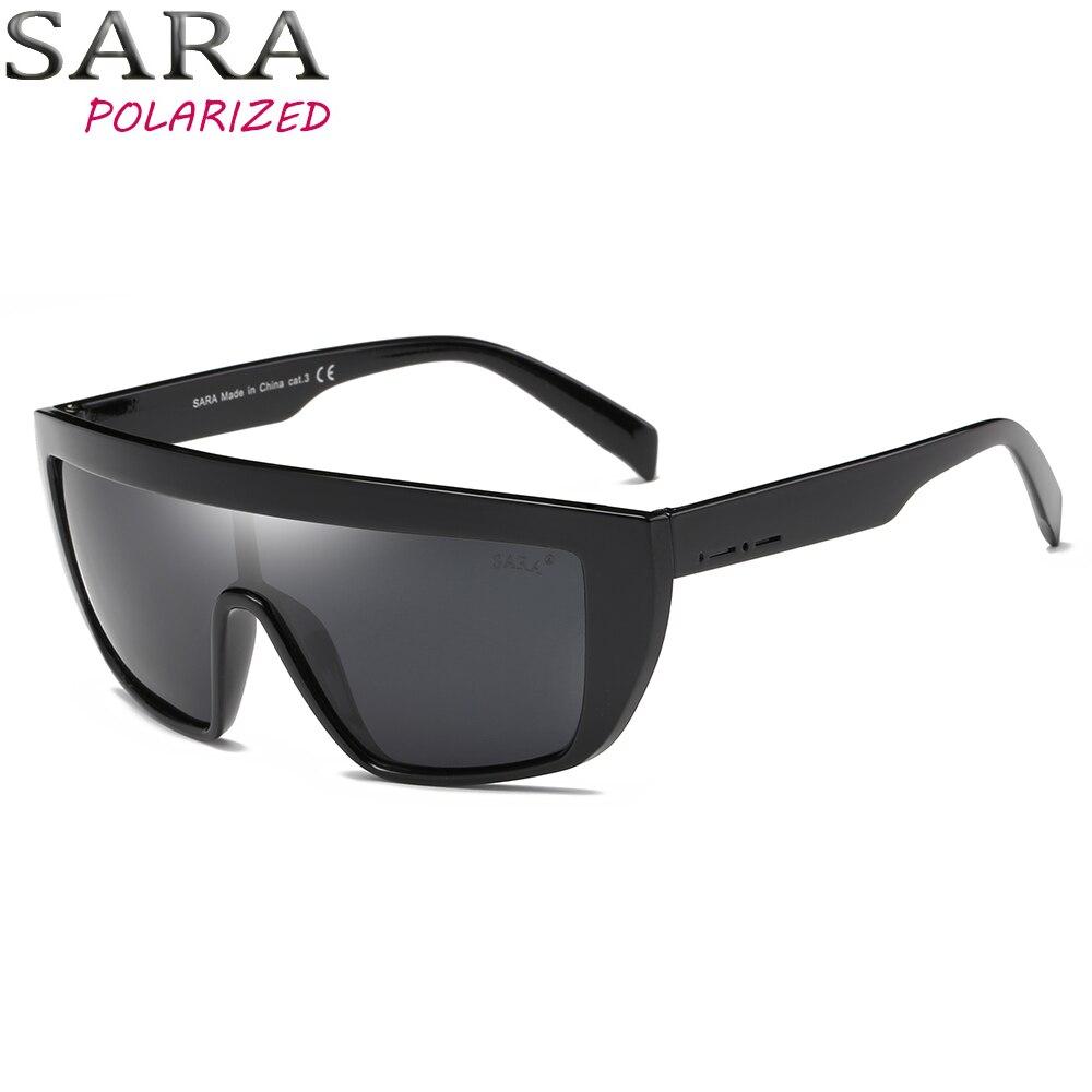 8f2a9451c9e Buy SARA Brand Classic Black Sport Polarized Mens Sunglasses Women Men  Driving Sun Glasses for man Clout goggles Eyewear Oculos 9022 Cheap Online