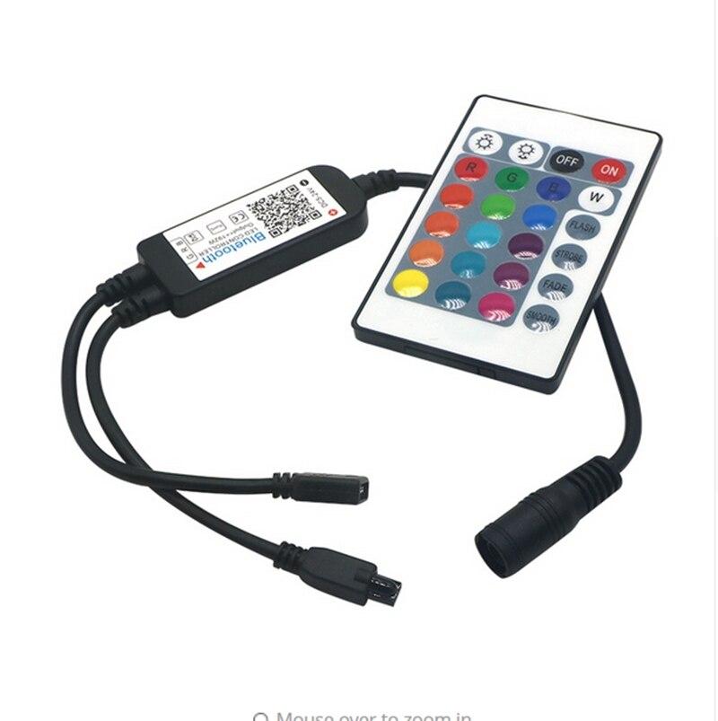 SZYOUMY Inteligente Iluminação LED Light Strip Controlador WiFi IR Bluetooth teclas do Controle Remoto IR RGB DC4.5V 25V 24 Alexa Inicial do Google - 3