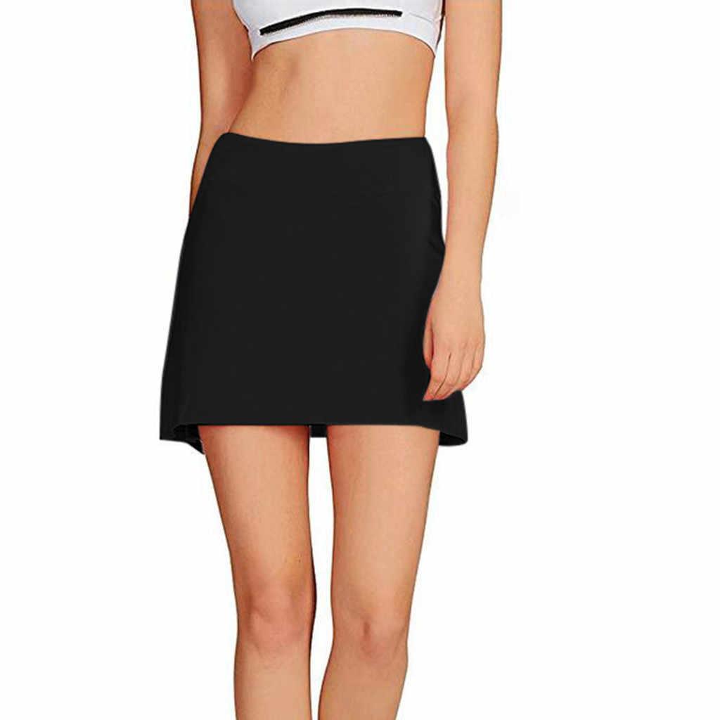 Nowa gorąca moda damska w stylu casual, plisowana spódnica golfowa do tenisa z spodenkami do biegania Skorts Outdoor Solid Tennis Skorts N20