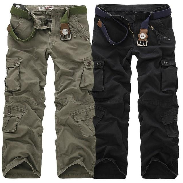 2017 Nuevos de Moda Más Tamaño Trajes Loose Código Pantalones Largos de Los Hombres Pantalones de Ocio Pantalones LB