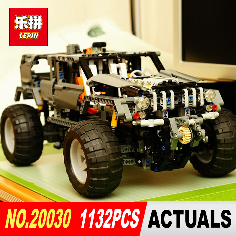Lepin 20030 1132Pcs Technic Ultimate Series The Off-Roader Set Children Educational Building Blocks Bricks Toys Model Gifts 8297 lepin 02020 965pcs city series the new police station set children educational building blocks bricks toys model for gift 60141
