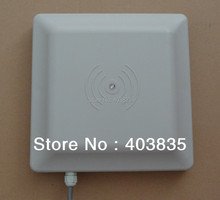 UHF RFID card reader 6m long range, 8dbi Antenna RS232/RS485/Wiegand Read 6M Integrative UHF RFID Reader