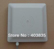 Lector de tarjetas RFID UHF 6 M de largo alcance, 8 dbi antena RS232 / RS485 / Wiegand leer 6 M integrativa UHF lector