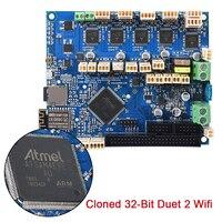Новый Клонировали 32 битный Duet 2 Wi Fi V1.04 плата контроллера Duetwifi для PanelDue 4,3 RepRap передовые Материнские платы с ЧПУ 3D принтеры доска