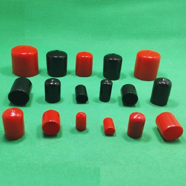Online Shop 1000 pieces/lot 30mm red End cap PVC Plastic Cable wire ...