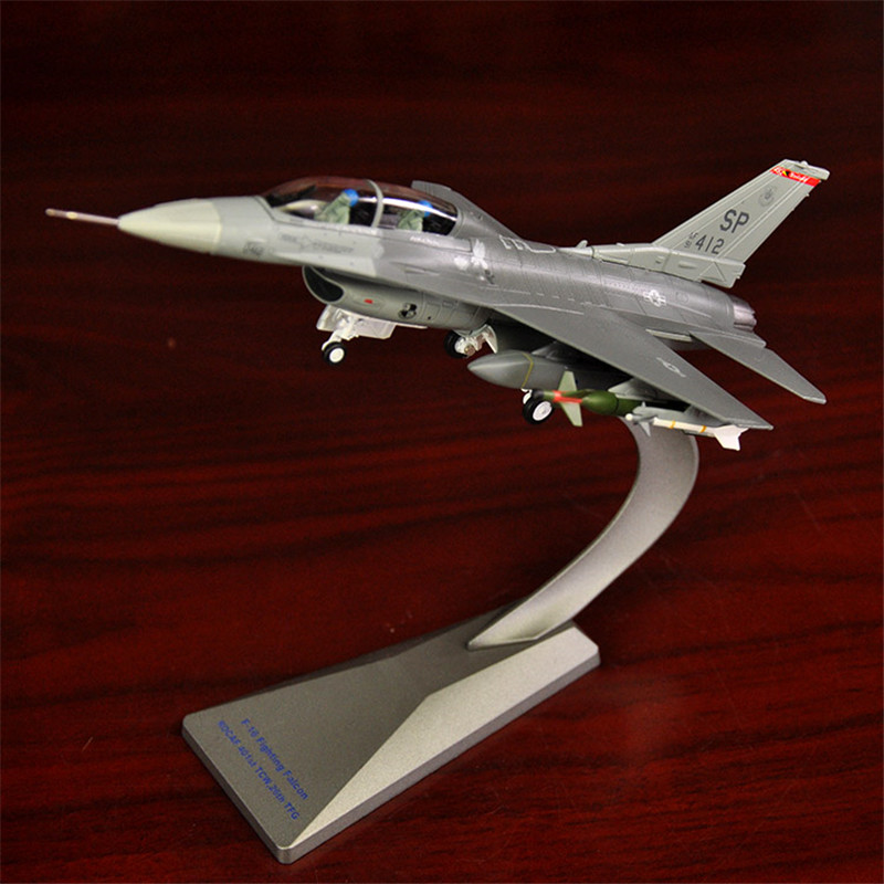 1:72 F16 Aircraft Model Alloy Fighter Simulation Military Model Ornaments F16 Fighter Model Precious Gifts Free Shiping model aircraft