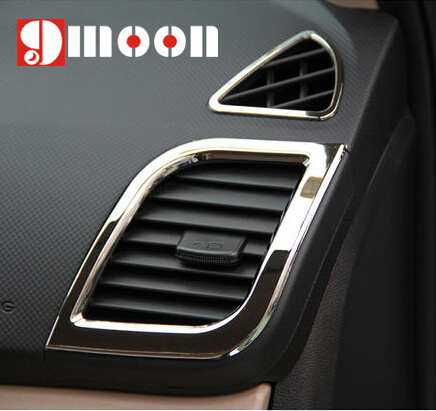 Аксессуары для отделки автомобиля, хромированная отделка из АБС пластика, декоративное кольцо для внутренней отделки, 4 шт., для Hyundai Solaris, accent, sedan, hatchback, 2011 2015 interior accessories hyundai accent interiorring ring   АлиЭкспресс