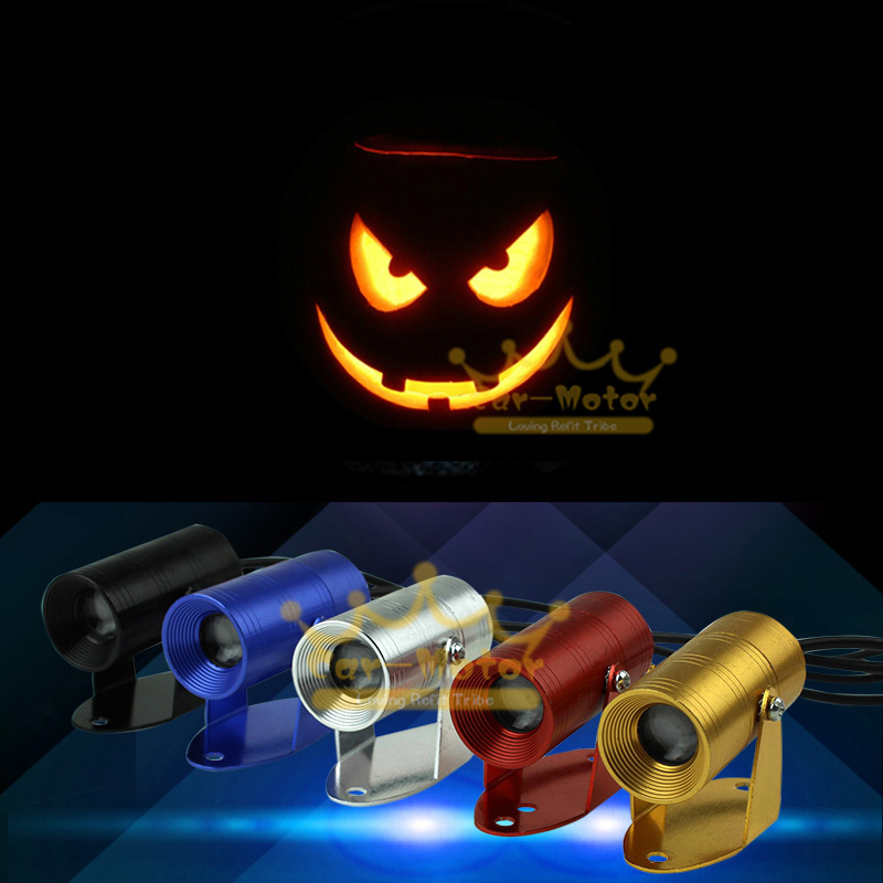 halloween horror pumpkin joke faces logo motorcycle laser projector shadow spotlight led logo light universal 3013 on aliexpresscom alibaba group