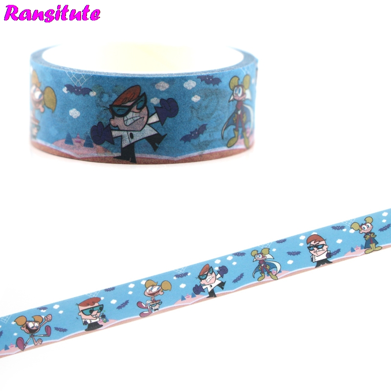 Ransitute R474 FashionChildren's Toys Washi Tape Traffic Tape Toy Car Decoration Detachable Hand Sticker