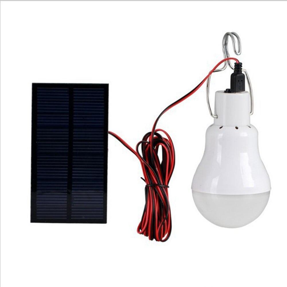 Hot Solar Powered Portable Led Bulb Lamp Solar Energy lamp led lighting solar panel light Energy Solar Camping Light