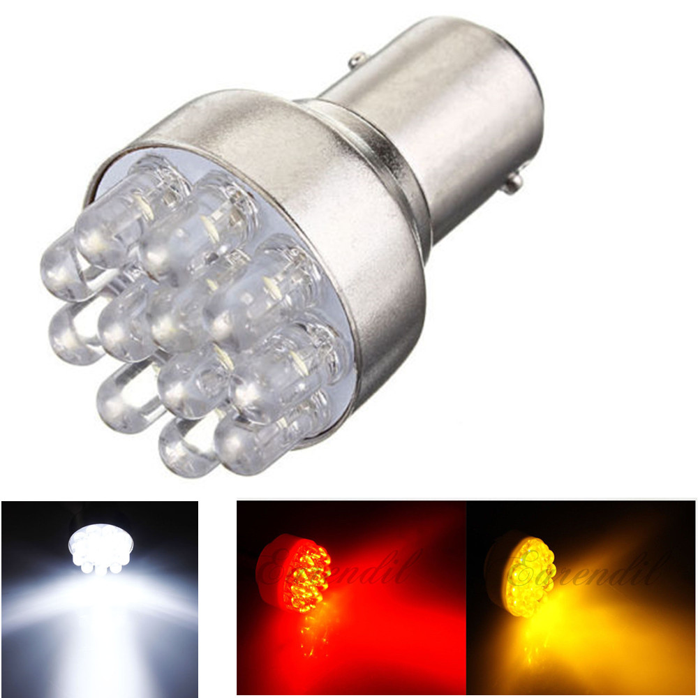 1157 BAY15D 50 LED SMD P21//5W 380 Car Brake Tail Stop Light Lamp Bulb Red White