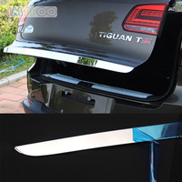 IMTFOO STAINLESS STEEL REAR HATCH TRUNK LID TAILGATE DOOR MOLDING FOR VOLKSWAGEN TIGUAN 2011 2012 2013 2014 2015