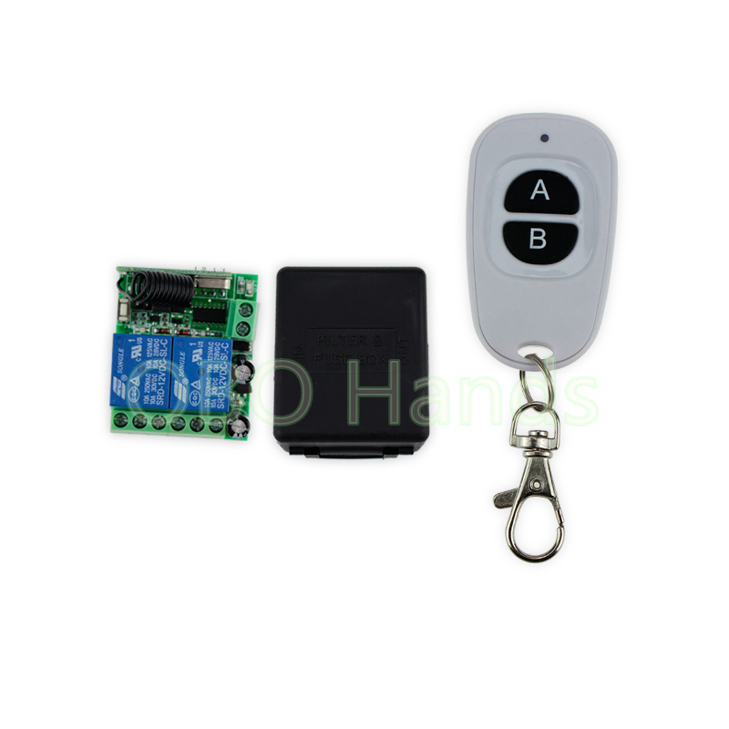 New arrival 315/433MHz 12V 2 CH 50M wireless remote control switch+receiver+shell for electric door lock control 2 doors-SL322 wireless 315 433mhz 12v 4ch remote control switch receiver shell for door lock can control 4 doors up to 50m for door lock sl34