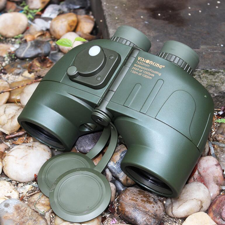 High quality Binoculars 7x50 Floating Waterproof Binoculars Professional Porro Telescope for hunting/observation/outdoor sports bresee high powered telescope hd 7x50 binoculars for hunting and outdoor adventure