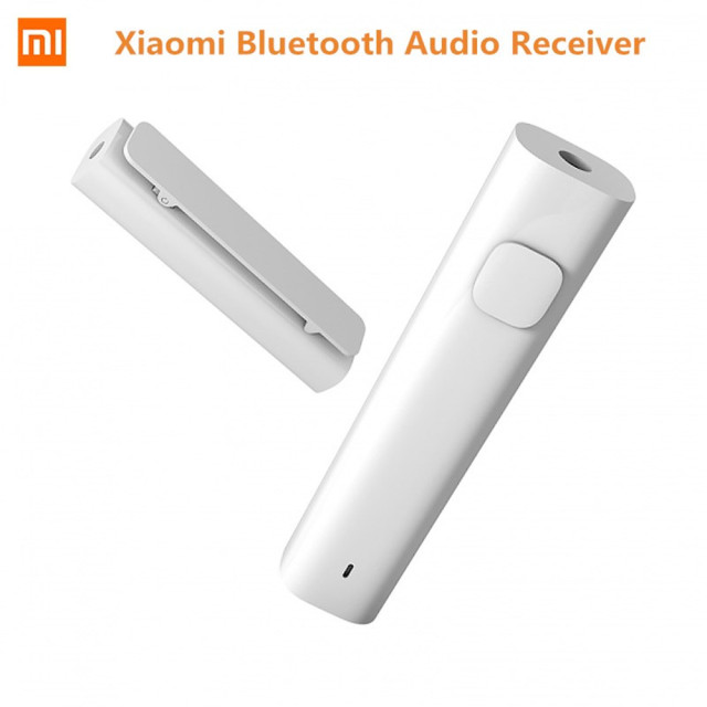 Original Xiaomi Bluetooth Audio Receiver Bluetooth 4.2 Wireless Adapter 3.5 mm Car Kit Speaker Original Headphone Hands Free