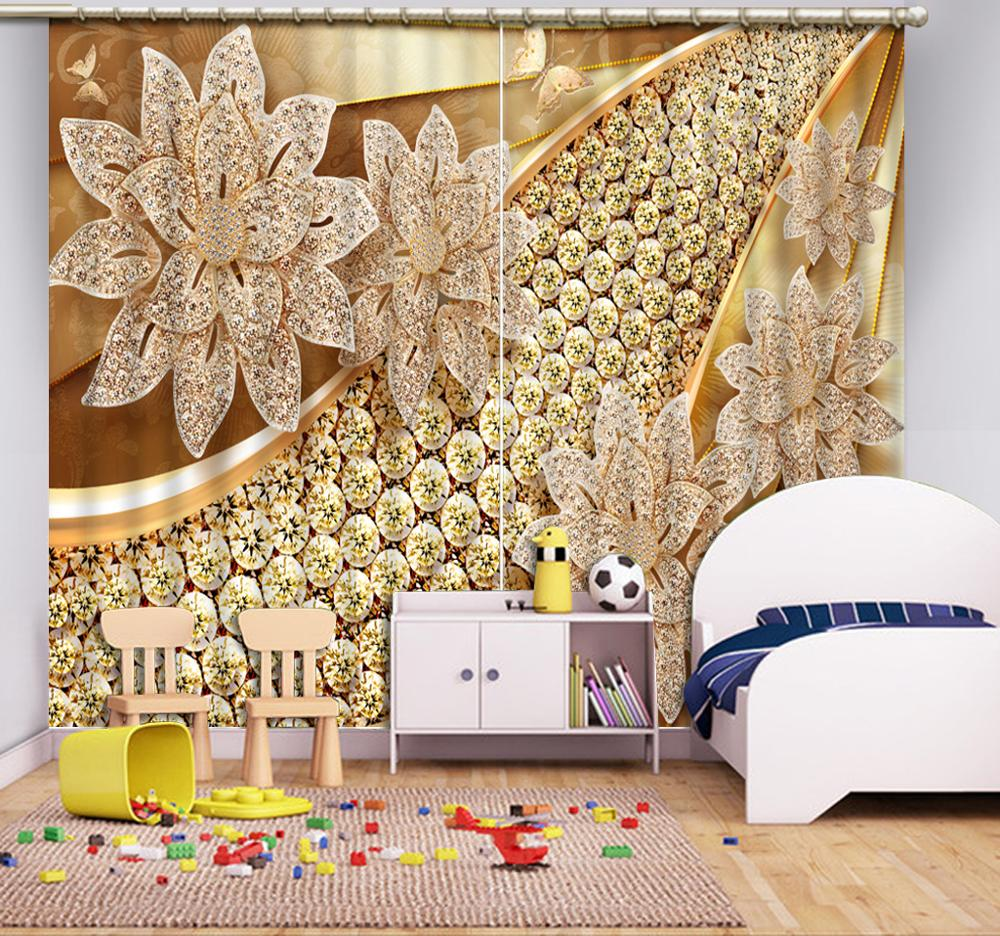 customize long curtains Jewelry flowers window curtain living room Bedroom hotel window curtaincustomize long curtains Jewelry flowers window curtain living room Bedroom hotel window curtain