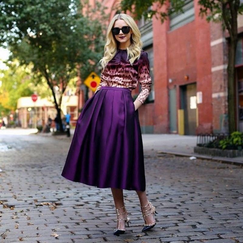 Compare Prices on Long Purple Skirt- Online Shopping/Buy Low Price ...