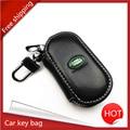 Кожа ключа автомобиля сумка ключа автомобиля кольцо брелок автомобиля Для Range Rover Discovery 3 4 для Land Rover Evoque Бесплатная Перхоть 2 3 стайлинга автомобилей
