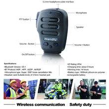 Interphone de Microphone tenu dans la main sans fil de Bluetooth pour lapplication de PTT Zello Azett Bper ESChat Bper pour le système dapple IOS et dandroid