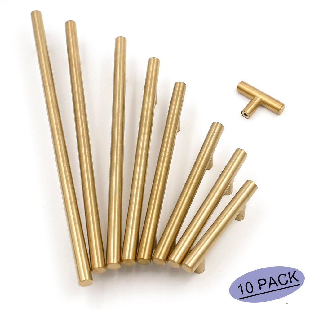 Maniglie X Mobili Da Cucina in acciaio inossidabile set di 10 maniglie a t per mobili da