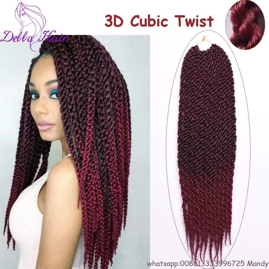 Free Ship Havana Mambo Twist Synthetic Braiding Hair Crochet Braids