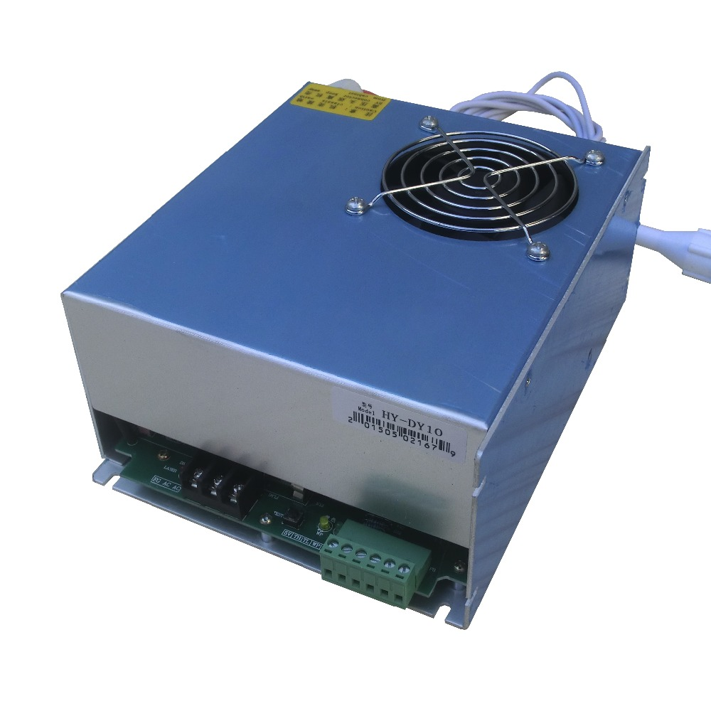 80w Co2 Laser Power Supply For Reci W4 Laser Tube With Blue Color Woodworking Machinery Parts Tools