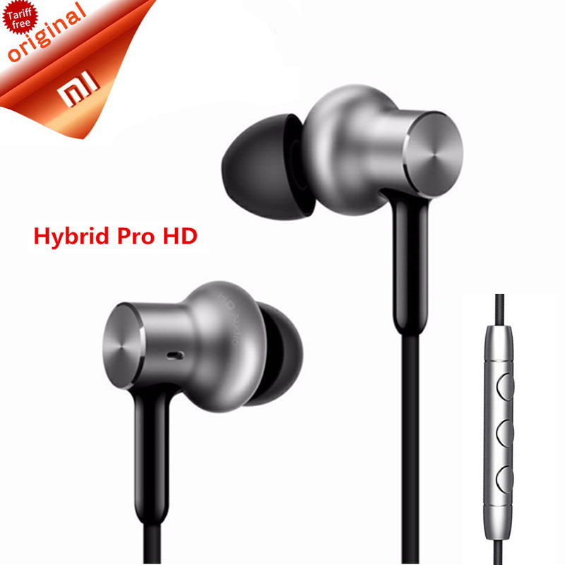 Original Xiaomi Hybrid Pro Earphone Mi Piston Pro Triple Driver | Mi In-Ear Pro HD | Circle Iron Pro Mic Xiaomi Earphone genuine xiaomi hybrid earphone auricolariin ear hifi headset microphone pro multi unit circle iron headphones mobile earphones