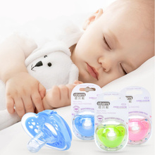 Food grade all silica gel 0-3Y Newborn Cute Silicone Pacifiers Infant Pacifier Holder Clip Baby Pacifiers Nipples pacifier 0 3y silicone transparent infant pacifier newborn soother teether silicone pacifier care feeding food grade silicone with box