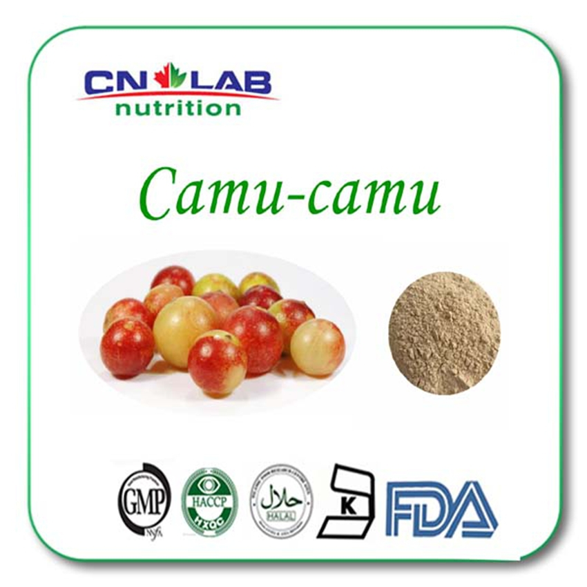 Organic camu camu powder/camu camu fruit extract Vitamin C 10:1 5kg/lot tremella fuciformis extract polysaccharides 10 1 powder 100g lot