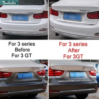 1 PCS Car New DIY Stainless Steel Tailgate Decorative Light Strip Cover Case For Bmw New