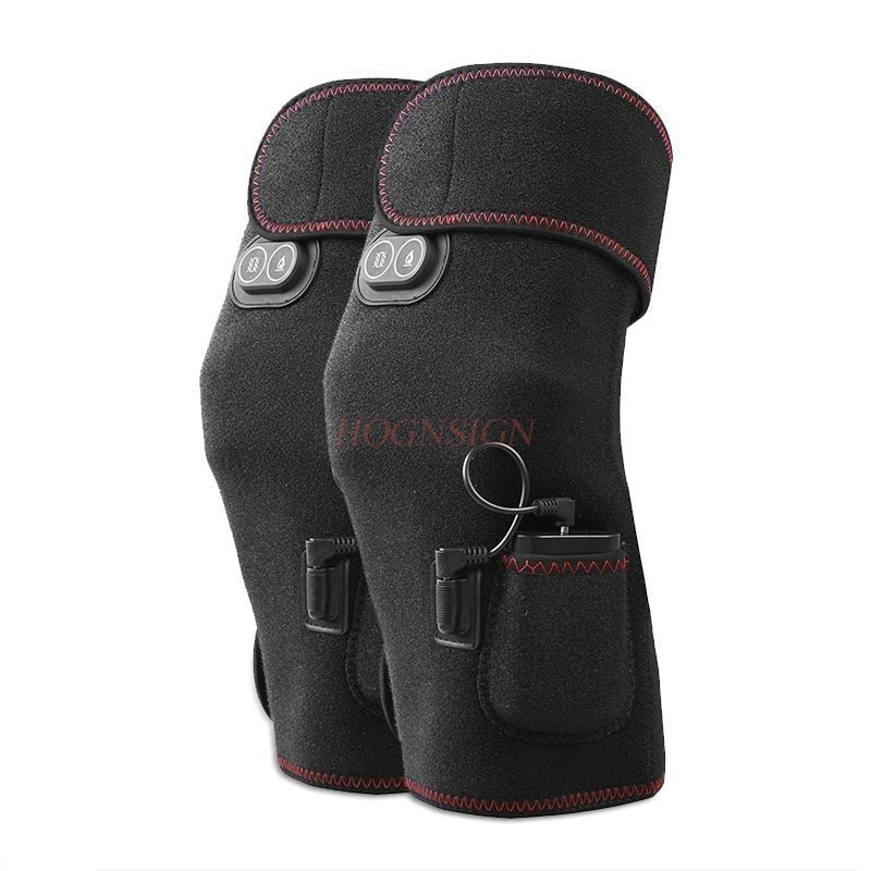 Electric Knee Pads Leg Massager Hot Vibrator Massage Heating Old Cold Legs Rechargeable Joints Warm Physiotherapy Heat PackElectric Knee Pads Leg Massager Hot Vibrator Massage Heating Old Cold Legs Rechargeable Joints Warm Physiotherapy Heat Pack