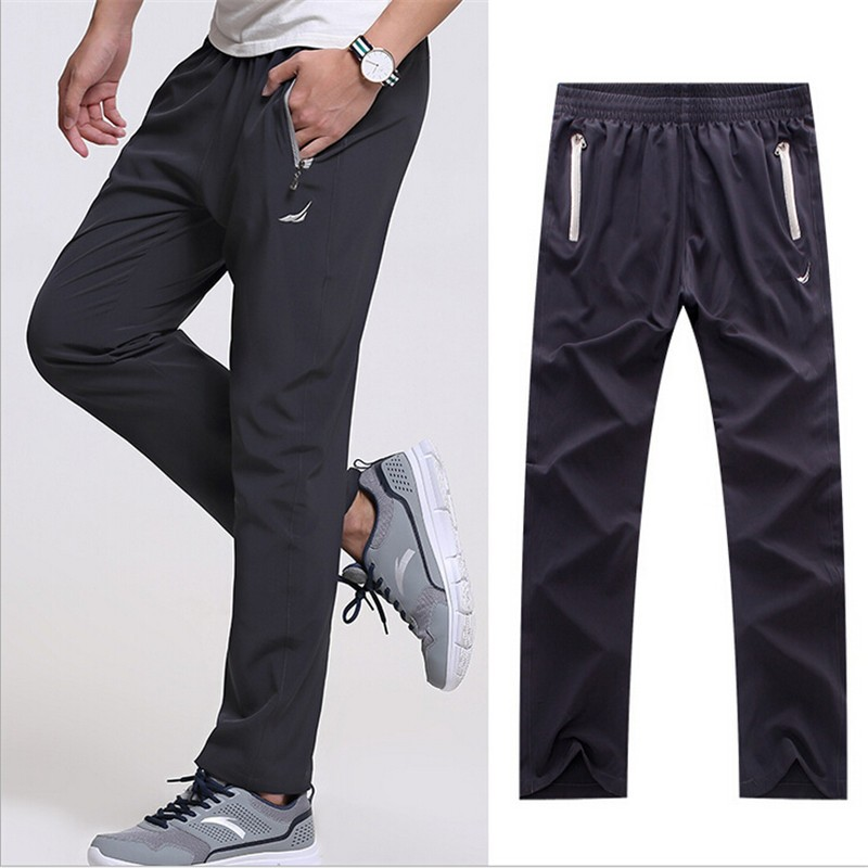 3XL New Fashion Spring Summer Mens Casual Pants Sweatpants Outside Working Trousers Joggers Baggy Pants Male Slim Trousers 519