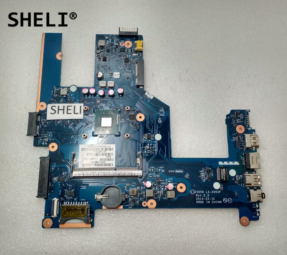SHELI For HP 15-R Motherboard With N2920 Cpu LA-A994P 789108-001 789108-501