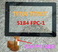 For Asus Transformer Pad TF700 TF700T 5184N FPC-1 Black digitizer touch screen Glass