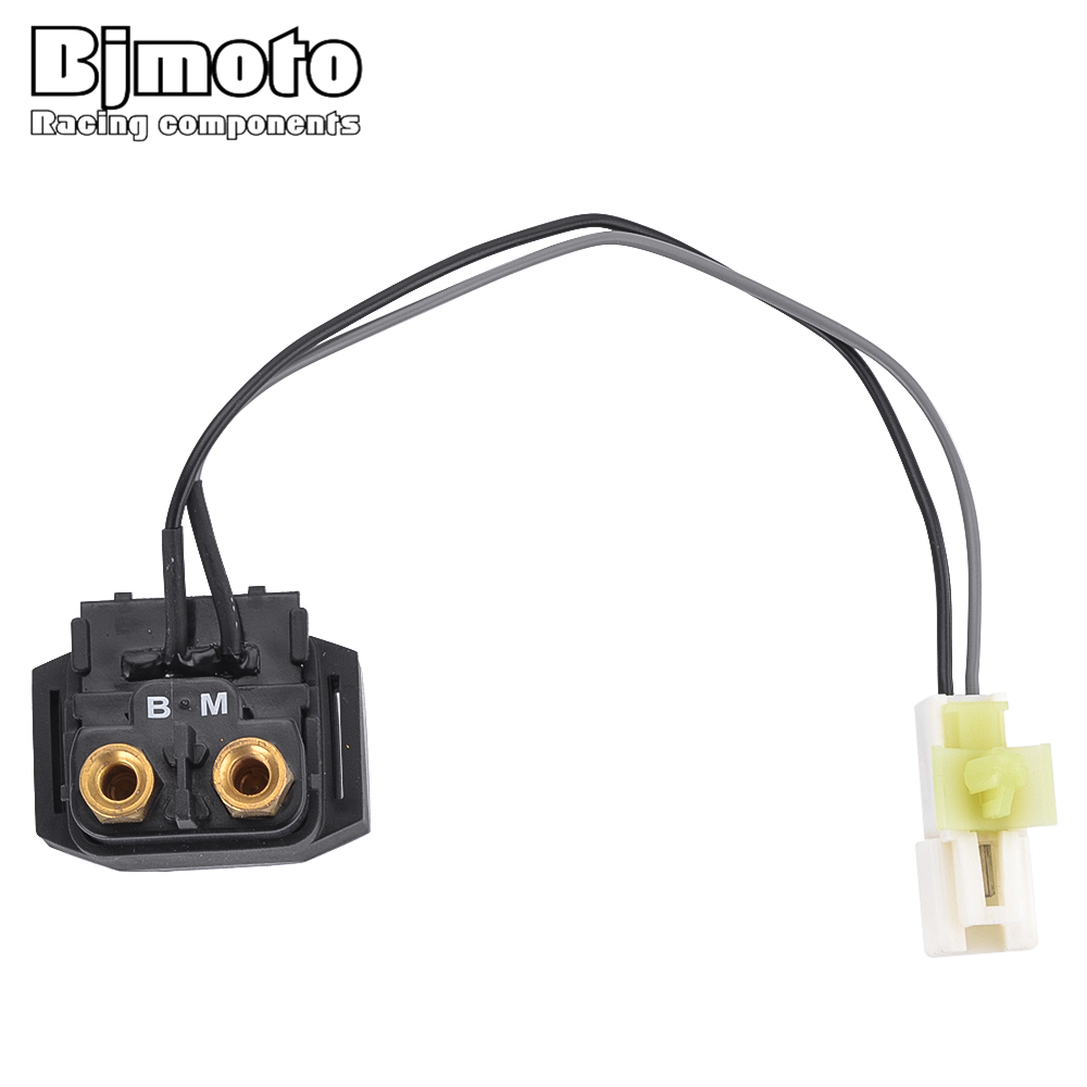 BJMOTO Motorcycle Electrical Parts Starter Relay Solenoid For Suzuki AN650 Burgman 650 2003-2016 31800-10G00