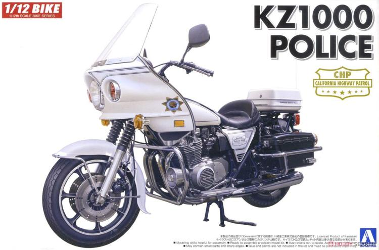For Kawasaki KZ1000 CSR LTD Police Replica Z1000J Sports ST