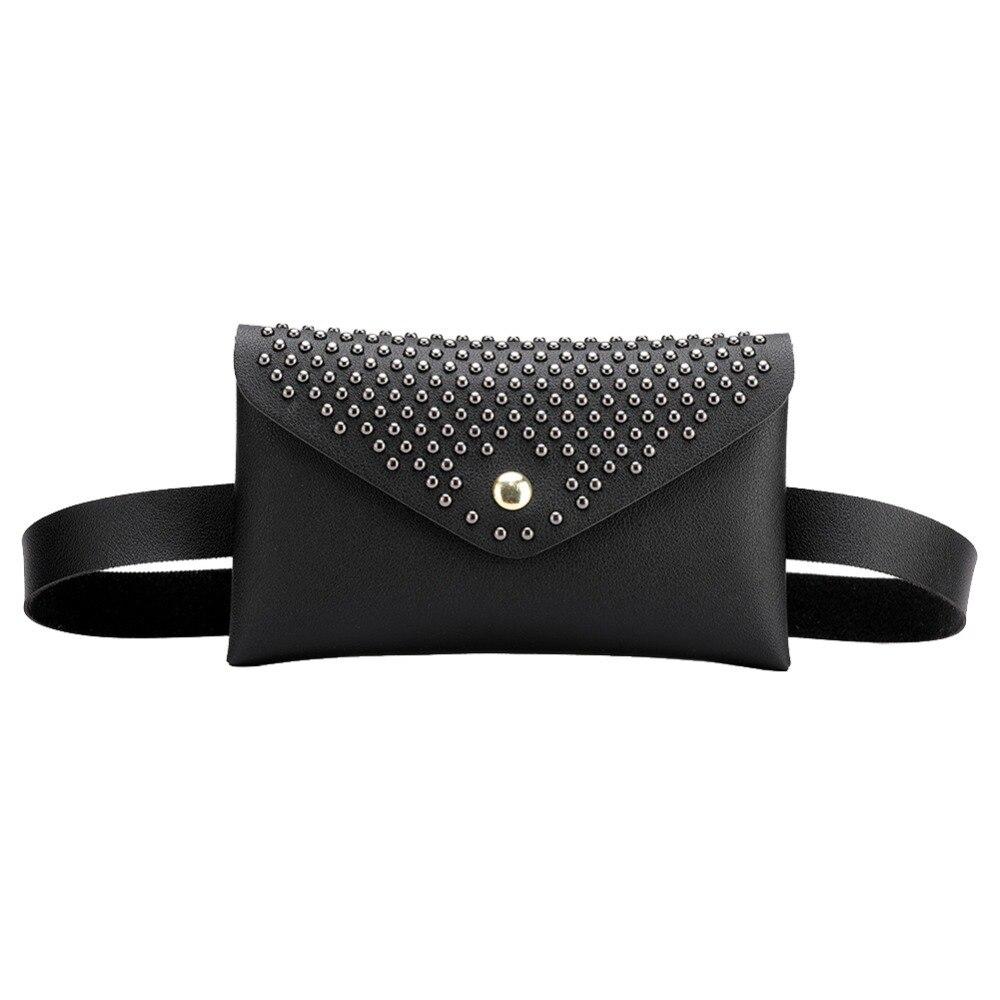 Women Belts Waist Bag Fashion PU Leather Chest Handbag Fanny Pack Bum Hip Ass Bag Belly Purse High Quality Belt Bags