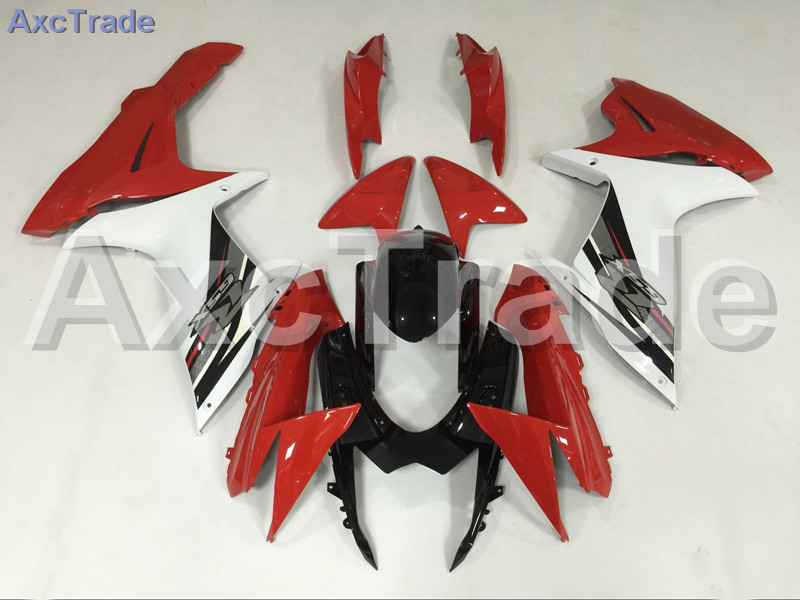 Motorcycle Fairings For Suzuki GSXR GSX-R 600 750 GSXR600 GSXR750 2011-2014 11 - 15 K11 ABS Plastic Injection Fairing Kit Red new motorcycle ram air intake tube duct for suzuki gsxr600 gsxr750 k11 2011 2012 abs plastic black