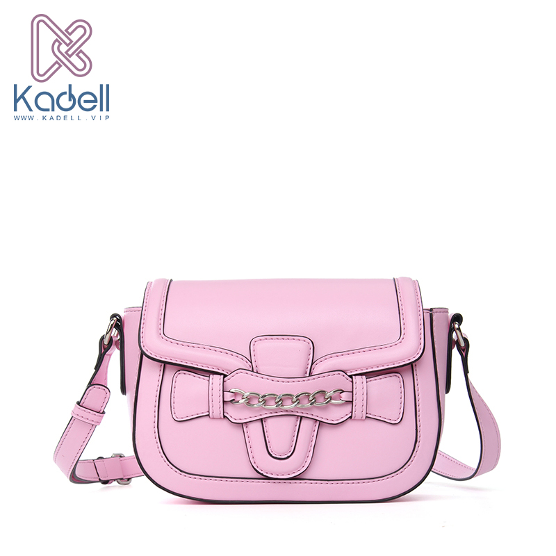 Kadell Luxury Brand PU Leather Messenger Bag Women Shoulder Bag saddle Flap Clutch Bag Small Crossbody bag Envelope Purse Girls new punk fashion metal tassel pu leather folding envelope bag clutch bag ladies shoulder bag purse crossbody messenger bag