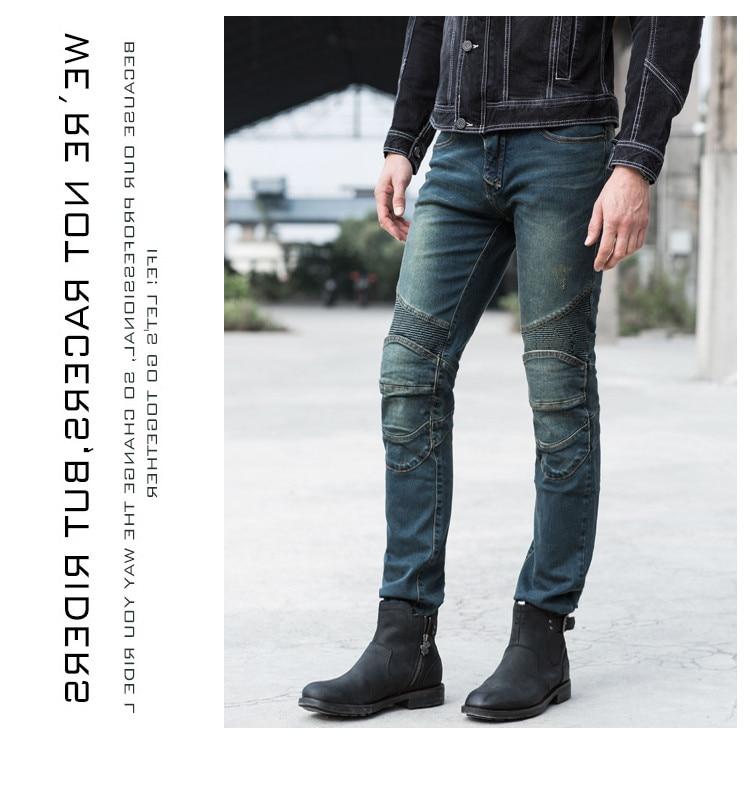 Schutzausrüstung Automobile & Motorräder Uglybros Herbed Jeans Motorrad Hosen Männer Der Straße Reiten Jeans Mode Lässig Motorpool Hosen 3 Farbe Size28-40