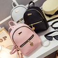 New Shoulder Bag Mini Backpacks Women Leather school bag women's Casual style backpack purses bags for teenagers