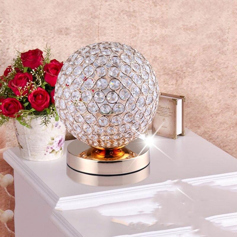 crystal table lamp desk lamp lighting luxury led table lamp