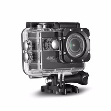 4K Ultra HD sport action camera, the waterproof Wi-Fi go pro cam with Anti-Shake electronic GYRO wifi car video kamera